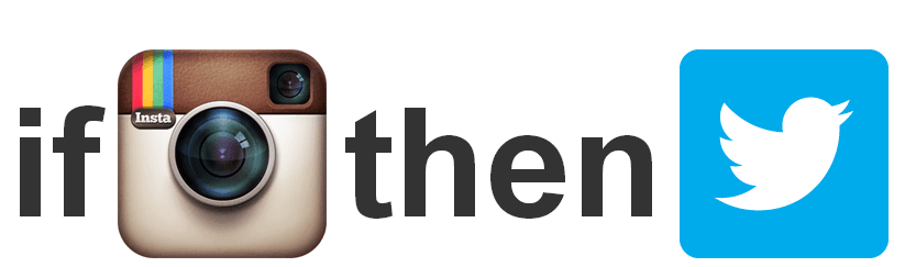 IFTTT: If Instagram then Twitter